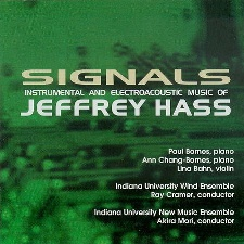 Signals by Jeffrey Hass, Paul Barnes piano